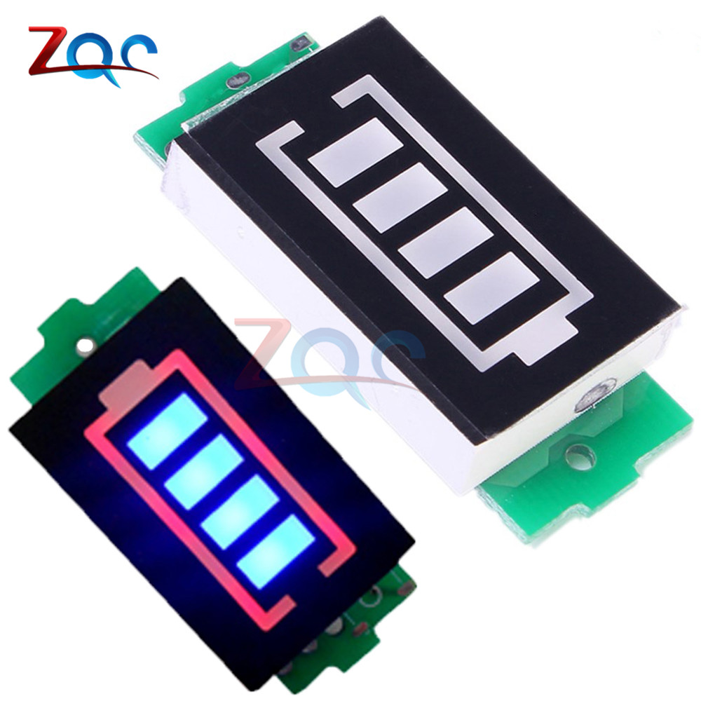 3S 3 Series Lithium Battery Capacity Indicator Module 12.6V Blue Display Electric Vehicle Battery Power Tester Li-po Li-ion 2016 promotion new standard battery cube 3 7v lithium battery electric plate common flat capacity 5067100 page 9