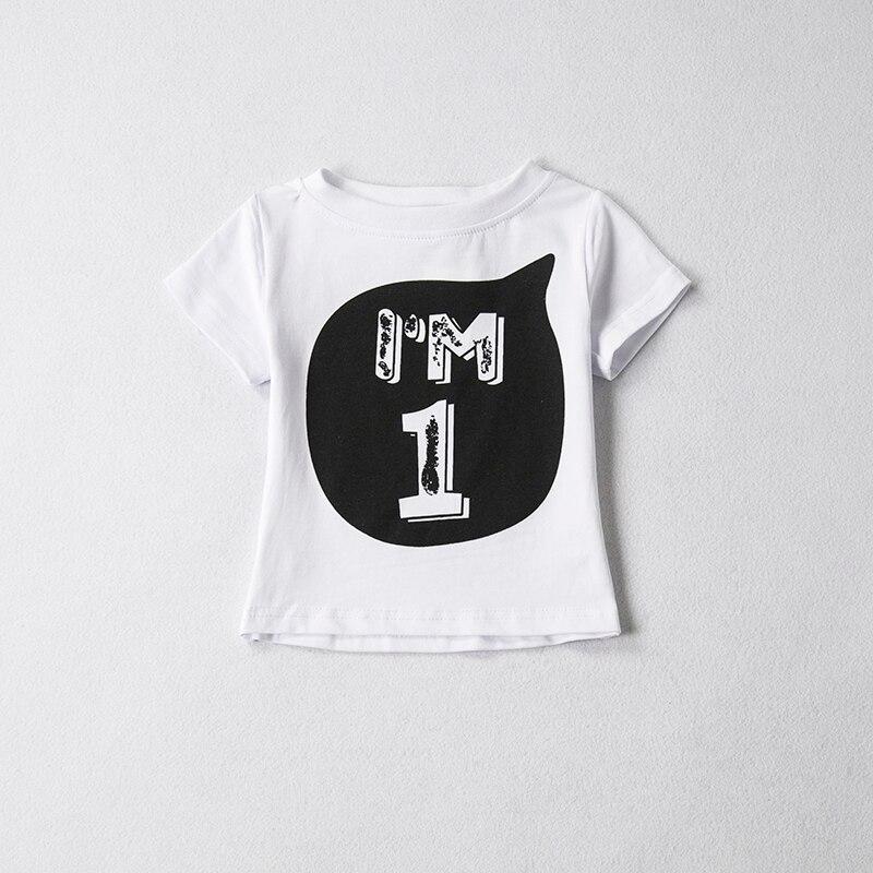 Katoen Zomer Baby Kleding T Shirt Tops Kinderkleding Meisje Jongens