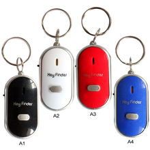 5pcs/Lot LED Torch Light Remote Sound Control Lost Key Car Engine Finder Locator Keychain Alarm Locator Track Phone Wallet Key(China)