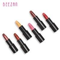 BEEZAN Oro Lustro Rossetto A Lunga Durata Labbra Tinta Balsamo per le labbra Batom Maquiagem Cosmetici per il Make-up