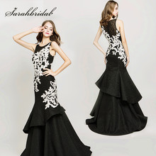 6f1ff13a8480a Buy white black party long gown and get free shipping on AliExpress.com