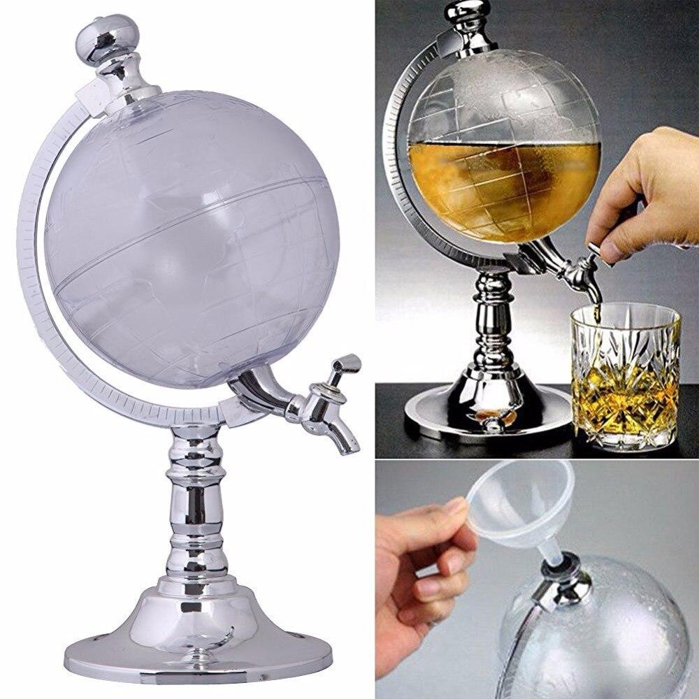 Whisky, Scotch, esprits, Vodka Monde Globe Vin Decanter maison décorer