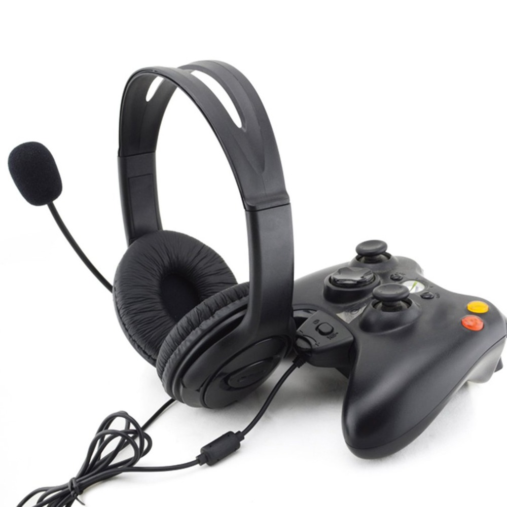 Gaming Headset With Adjustable Microphone For Xbox 360 Noise Cancelling Game Headphone Durable Stereo Earphone ...