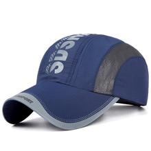Новая быстросохнущая кепка мужская повседневная кепка мужская корейская модная шапка унисекс