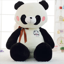 90cm Panda Plush Toy Black and White Real Life Giant Toys Bear for Children Stuffed Baby Juguetes
