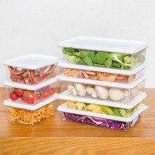 Caja de almacenamiento de alimentos de plástico contenedor de grano organizador de cocina bocadillos de alimentos organizador de verduras-in Cajas y recipientes de almacenamiento from Hogar y jardín on Aliexpress.com | Alibaba Group