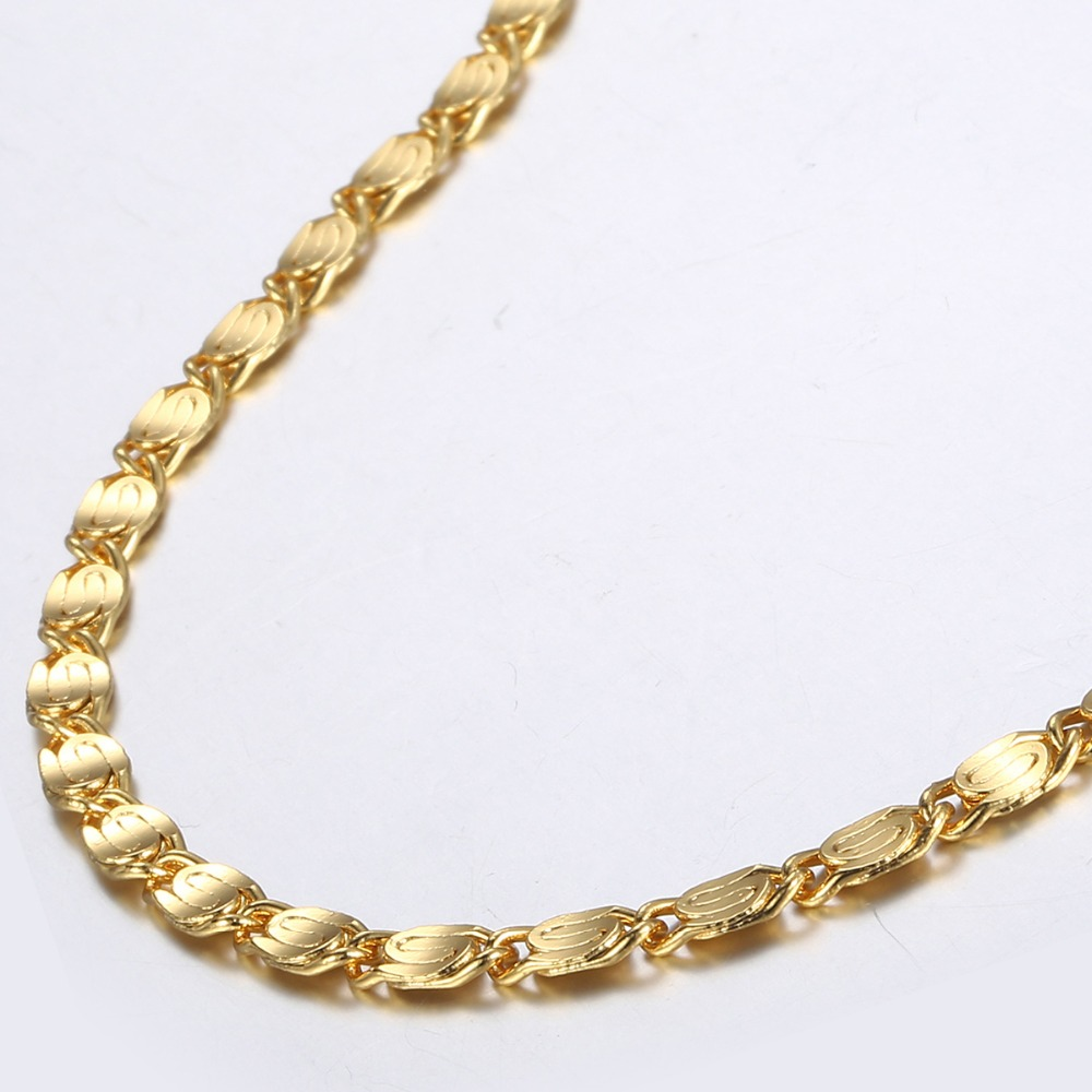 Stylish Men's Gold Link Chain