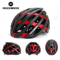 ROCKBROS Integrally Molded Adjustable Cycling Helmet Ultralight EPS PC Bicycle Helmet Breathable MTB Road Bike Helmet