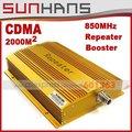 Marketing direto CDMA980 850 MHZ 2000 metros quadrados sinal de telefone celular amplificador de sinal RF repetidor de sinal de reforço