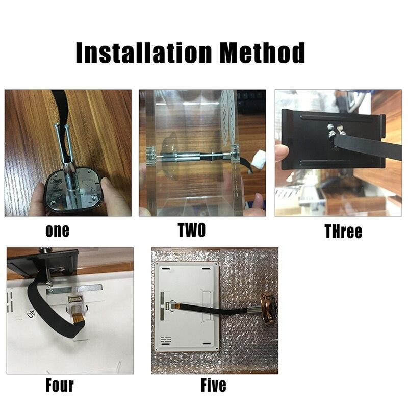 Купить с кэшбэком iHome4 Video Peephole WIFI Door Viewer IP Doorbell 7 Inch Screen IR Night Vision PIR Door HD Camera Motion Detect Door Bell Hot
