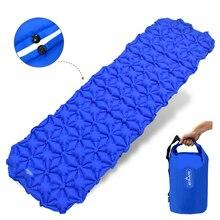 Сверхлегкий туристический коврик кровать с подушкой сумка для хранения насоса надувной матрац коврик лагерь Inflable для