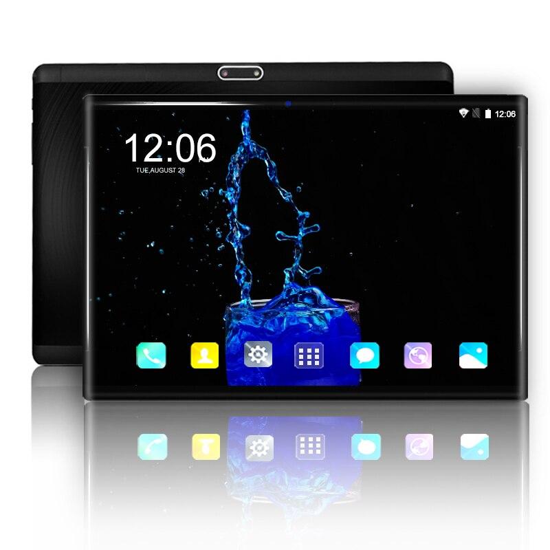 Original 10 Inch Tablet PC 3G/4G Phablet Dual SIM Card Android 8.0 Octa Core RAM 6GB ROM 64GB WIFI GPS Bluetooth Tablets 10 10.1