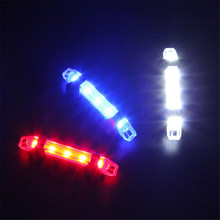 купить Mountain Bicycle light LED Taillight Night riding Rear Tail Safety Warning Cycling equipment Portable Light USB Rechargeable по цене 115.28 рублей