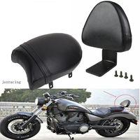Motorcycle Black Detachable Backrest Sissy Bar Rear Passenger Seat For Victory Kingpin Boardwalk High ball Gunner