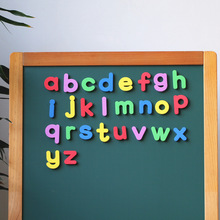 Fridge Board Magnetic Sticker Lowercase Letter alphabet Gadget Pure EVA Refridgerator Home Room Decoration Accessories Kids