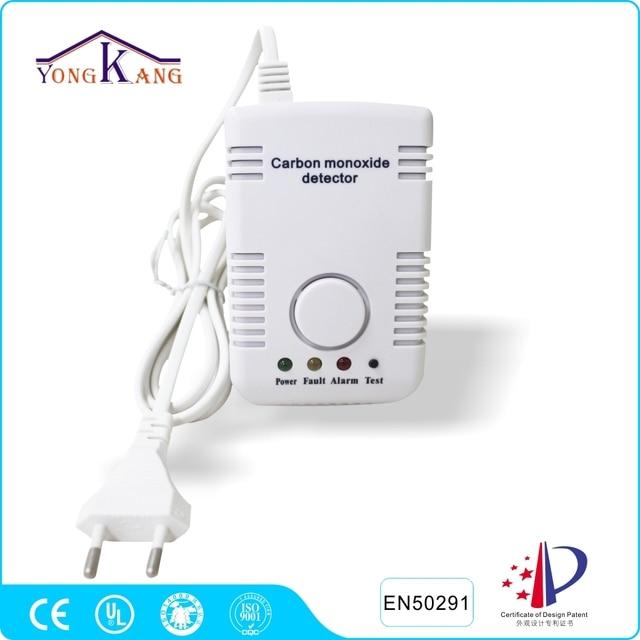 Yongkang AC Power Carbon Monoxide CO Alarm from China Manufacturer