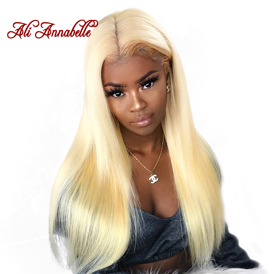Ali Annabelle Malaysian Straight Human Hair 613 Bundles with Closure 4 4 Lace Closures 100 Remy