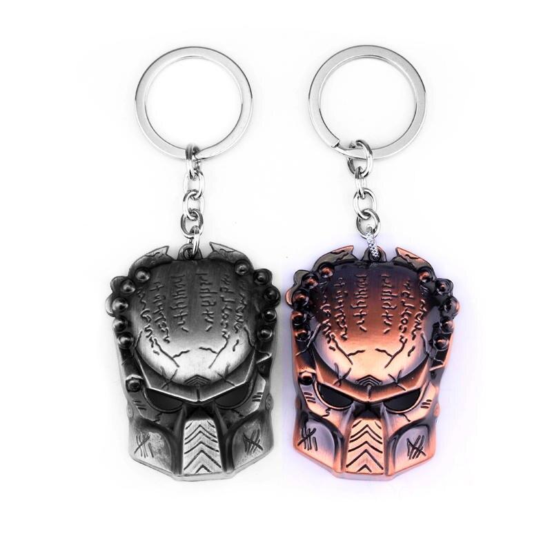 ⊹Nueva llegada nueva declaración joyería AVP Alien Predator llavero ...
