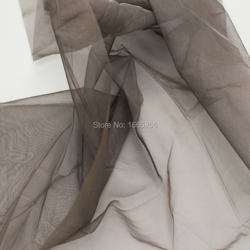 BLOCK EMF 100% Silver Fiber Mesh Transparency Fabric Used For Hometextile