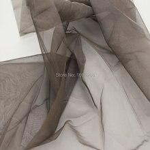 Блок EMF 100% Серебро волокно сетка прозрачность ткань используется для Hometextile