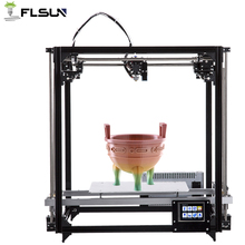 2019 NEW Flsun 3d Printer Touch Screen Support Large Printing Area 260*260*350mm Auto-Leveling Heated Bed  Overseas Warehouse