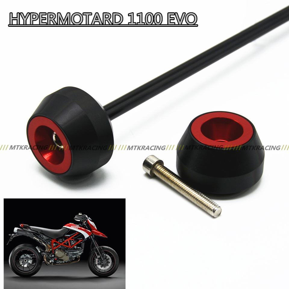 Free shipping for DUCATI HYPERMOTARD 1100 EVO 2010-2012  CNC Modified Motorcycle drop ball / shock absorber