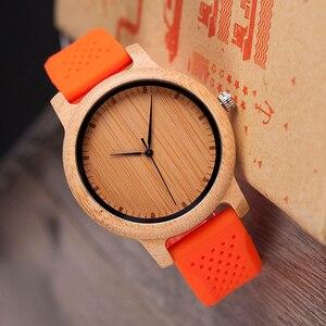 Image 5 - Reloj mujer BOBO BIRD นาฬิกาผู้หญิงชุดไม้ไผ่สุภาพสตรีนาฬิกาซิลิโคนญี่ปุ่นนาฬิกาข้อมือนาฬิกาของขวัญ