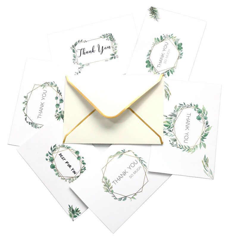 6 шт./компл. отличается простой Стиль самое лучшее для вас спасибо Бумага поздравительные открытки на день благодарения учителей подарок на день матери Декор