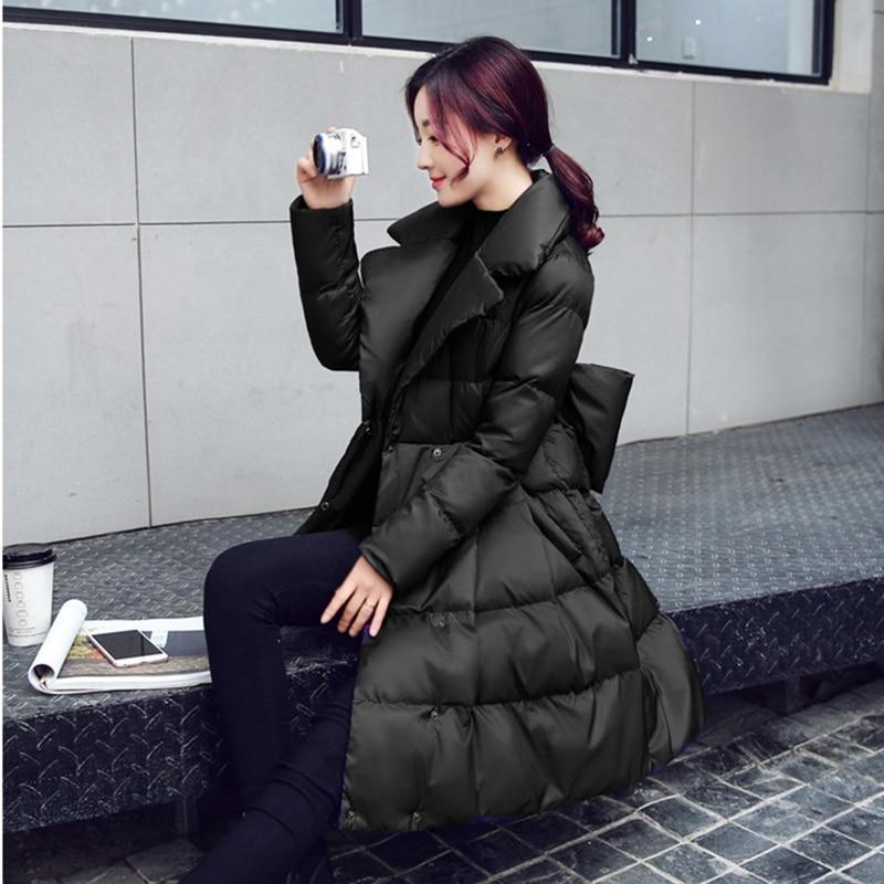 Caldo Femminile Delle line Altalena Inverno Lungo Imbottiture Cotone Black Grande Red Arco Giacche Modo Donne Parka Cappotti N247 Spessore Di purple purple A Sottile Giacca wZEU8nP5q