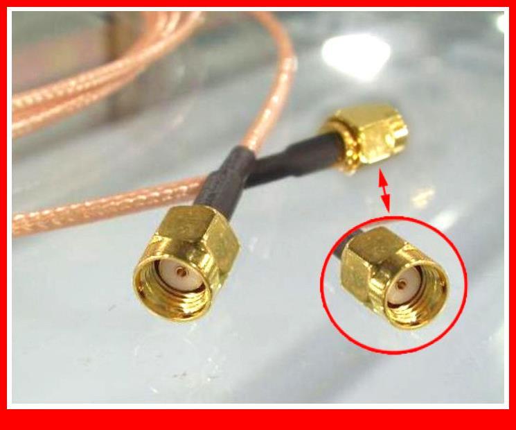 20 шт RP-SMA Штекерный RP SMA штекер Pigtail Перемычка беспроводные кабели RG316 20 см