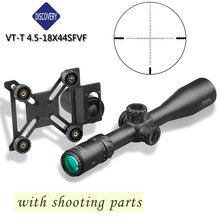 Famous DISCOVERY Hunting Riflescope VT-T 4.5-18X44SFVF FFP With Rangefinder Reticl Special Phone Mount For airsoft air guns