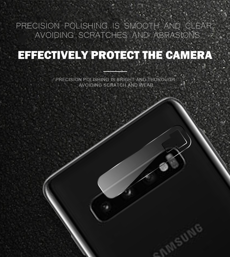 9H For Samsung Galaxy S10 Plus Protective Glass Camera Len Film Protector For Samsung Galaxy S10 S10E S10Plus Tempered Lens Film in Phone Screen Protectors from Cellphones Telecommunications
