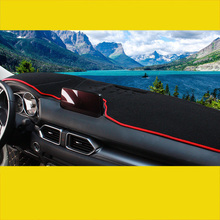 Lsrtw2017 polyester car dashboard mat for mazda cx-5 2013 2014 2015 2016 2017 2018 2019