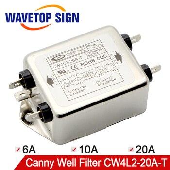 Envío Gratis astuto bueno CW4L2-20A-T EMI Filtro de potencia de fase de doble-Sección Filtro de potencia CW4L2-10A-T CW4L2-6A- T