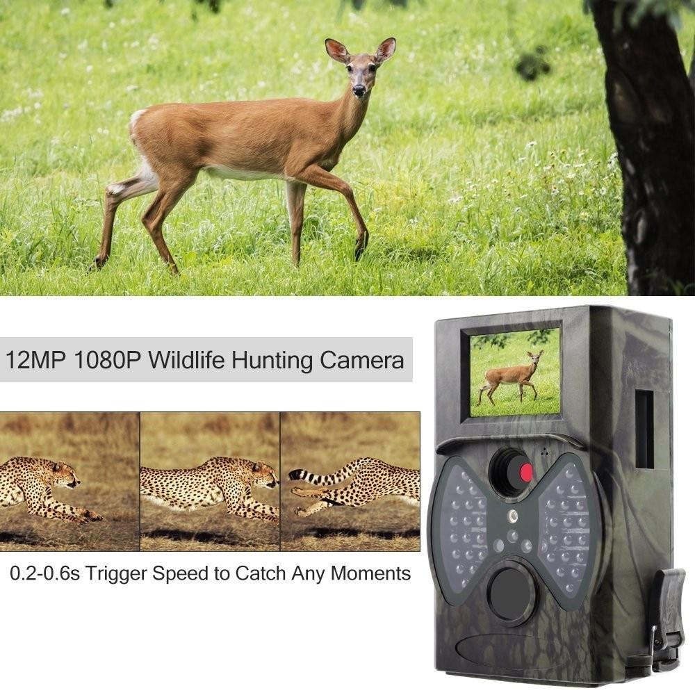 Hunting Trail Wild Camera HC300A Photo Trap Wildlife Cameras IR LED Night Vision Infrared Cams Surveillance