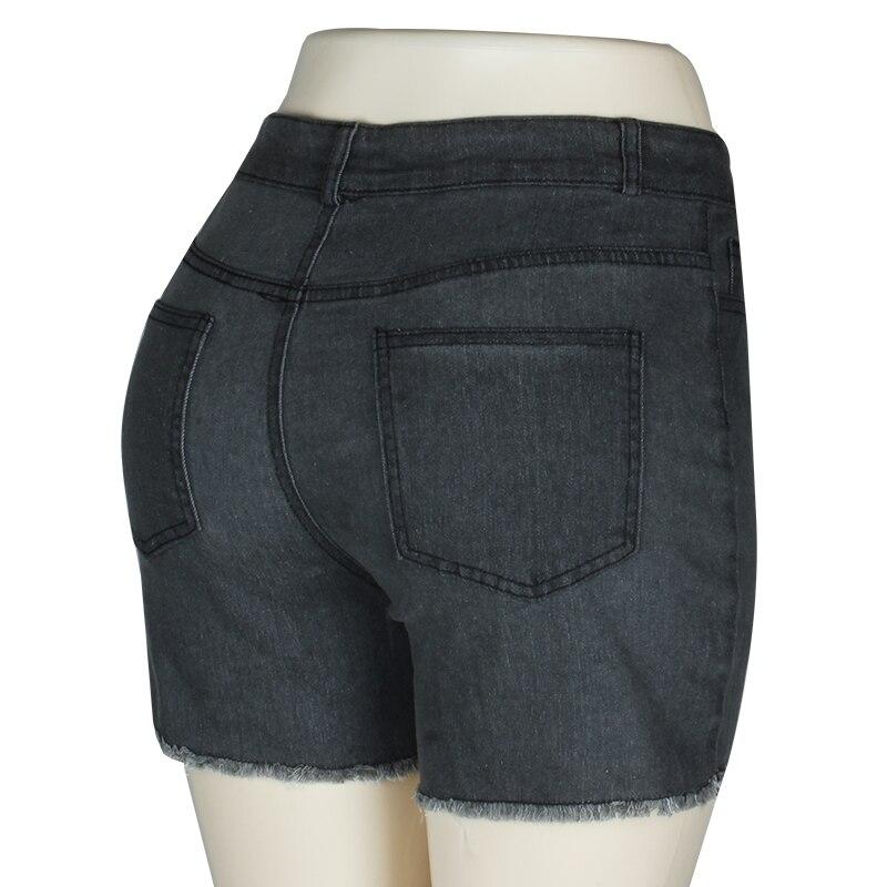 Fashion Women Push Up Skinny Slim Denim Shorts 37