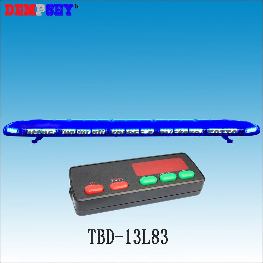 TBD-13L83 High quality super bright 1.8M LED Blue lightbar,Car Roof Flash Strobe lightbar,Police/Ambulance/emergency lightbar