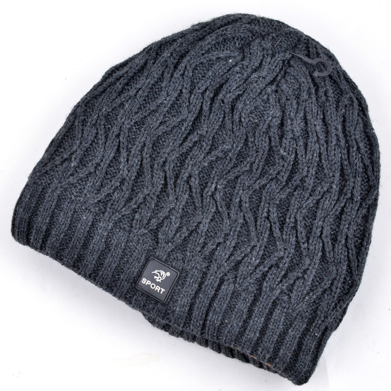 Hot sell winter hats for men knitted wool warm beanies for women beanie plus velvet snowboard mask cap bad hair day gorro touca 2017 new wool grey beanie hat for women warm simple style bad hair day knitting winter wooly hats online ds20170123 x24