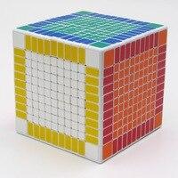 Shengshou 11x11 головоломки Куба профессиональных pvc и матовая Наклейки Cubo magico головоломки Скорость Классические игрушки Обучение и образование и