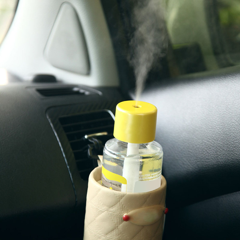 Portable Mini Water Bottle Caps Humidifier Aroma Air Diffuser Mist Maker 1Pc #Y05# #C05#