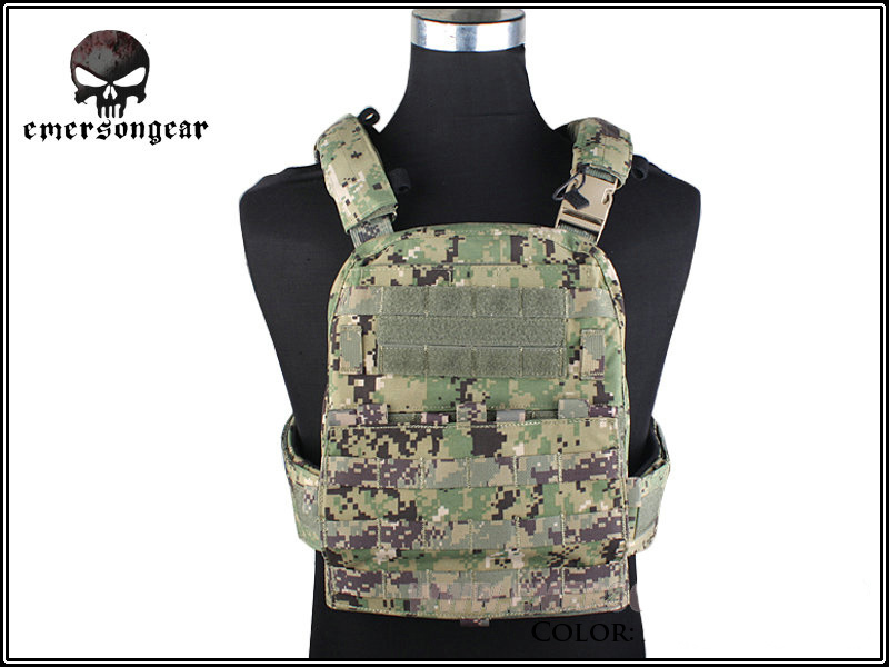 Hunting Genuine Fabric AVS Vest EMERSON CP Style Adaptive Vest Heavy Version Airsoft Paintball Military Vest EM7397 AOR2