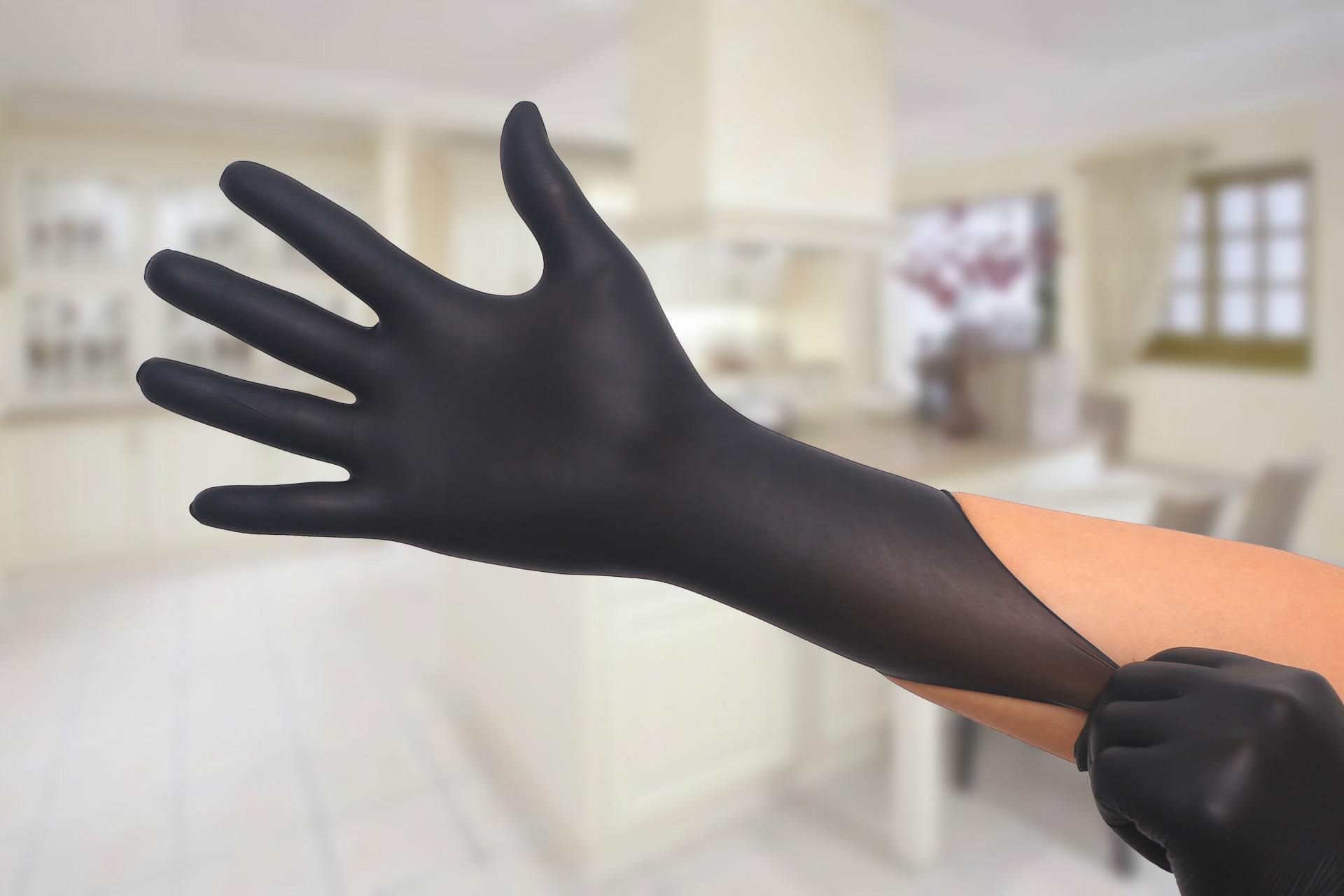50 to100PCS Disposable Latex Gloves Latex And Anti Bacterial Medical Gloves for Virus and Flu Protection 8