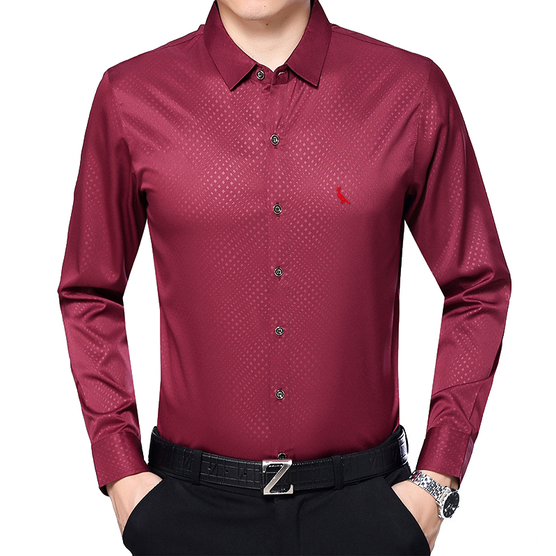 New Brand Reserva Mens Shirts Fashion 2018 Spring Autumn Top Men Shirt Long Sleeve Slim Fit Print Shirts Men Brand-clothing ...