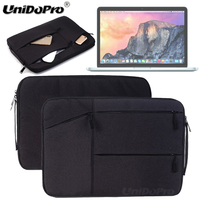 Unidopro Classic Multifunctional Sleeve Briefcase Notebook Handbag Case For Macbook Pro Air 13 3inch Laptop Carrying