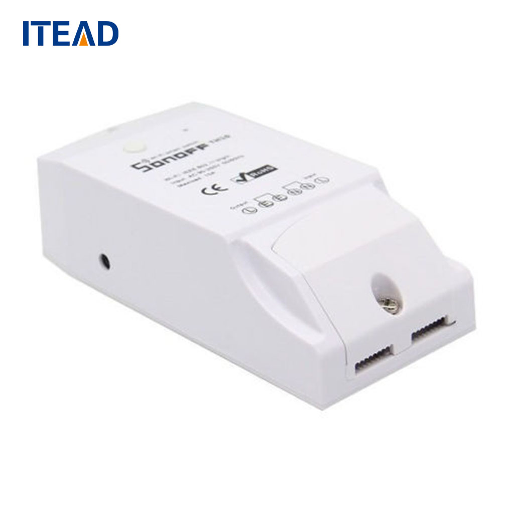 ITEAD Sonoff TH16 WiFi Smart Switch 16A Temperature and Humidity Sensor Smart Home Remote Controller temperature and humidity sensor protective shell sht10 protective sleeve sht20 flue cured tobacco high humidity