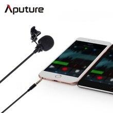 Nueva Llegada Aputure A. lav ez lavalier micrófono para móvil/smartphone lavalier micrófono de solapa para el móvil grabación de voz
