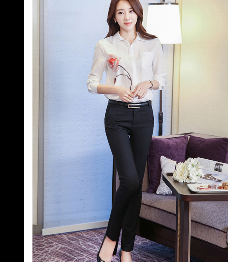 Women Pencil Pants 2019 Autumn High Waist Ladies Office Trousers Casual Female Slim Bodycon Pants Elastic Pantalones Mujer 20