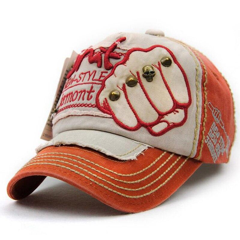 Kapelë e re unisex Snapback Rivet Fist Baseball Kapele pambuku - Aksesorë veshjesh - Foto 3