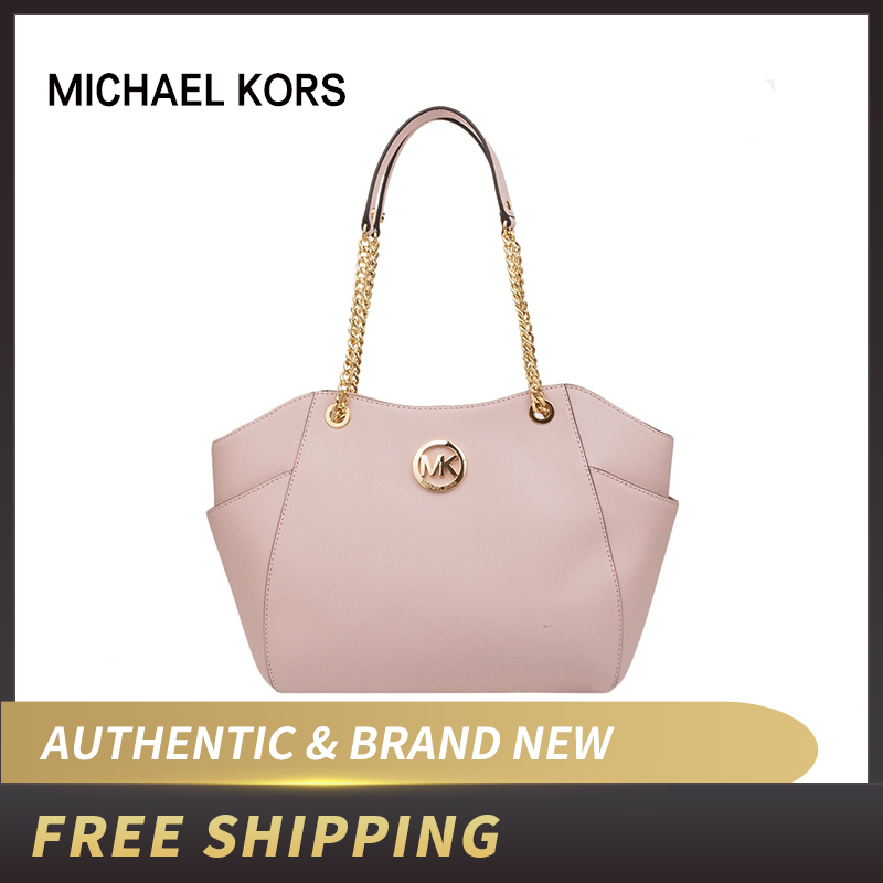 Authentic Original & Brand New Michael Kors Women's Bag Jet Set Travel Large Chain Shoulder Leather Tote Womens' Pouch35T5GTVT3L