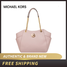 9ca562f37f8ff Michael Kors Jet Set Travel duży łańcuch ramię Leather Tote  35T5GTVT3L(China)